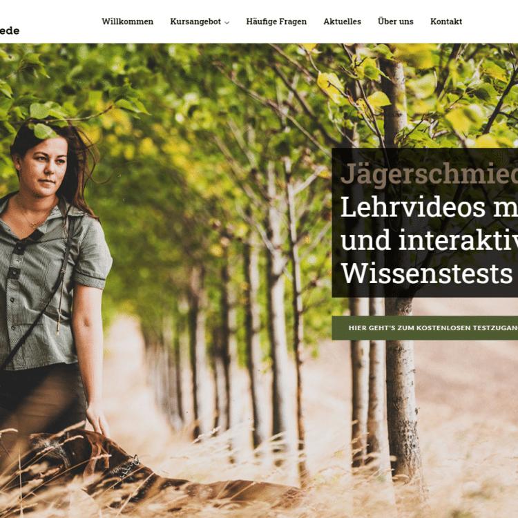 E-Learning Portal Online Kurs zum Jagdschein
