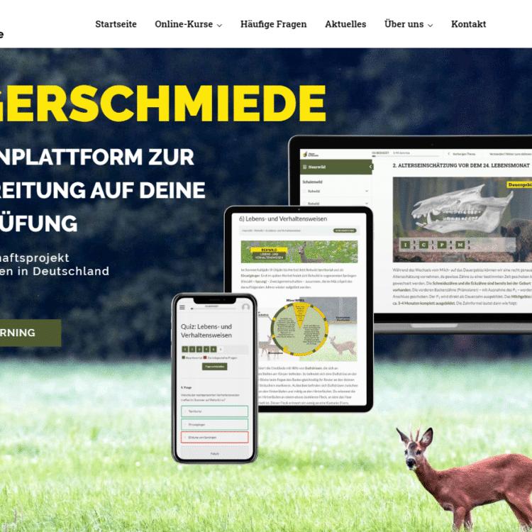 E-Learning Portal Online Kurs zum Jagdschein 1