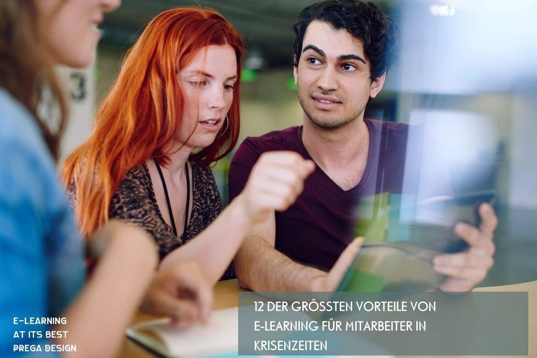 12 der größten Vorteile von E-Learning für Mitarbeiter