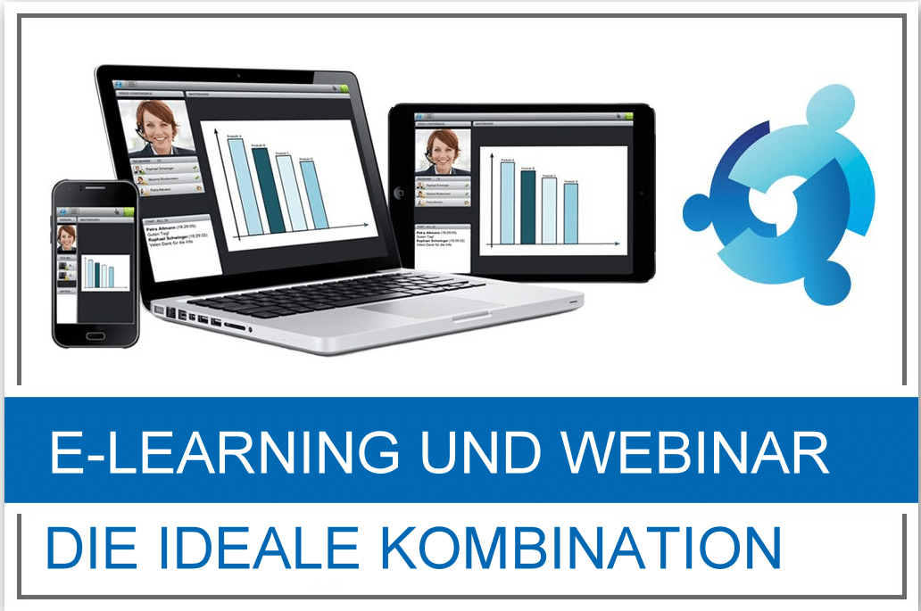 E-Learning und Webinar ideale Kombination